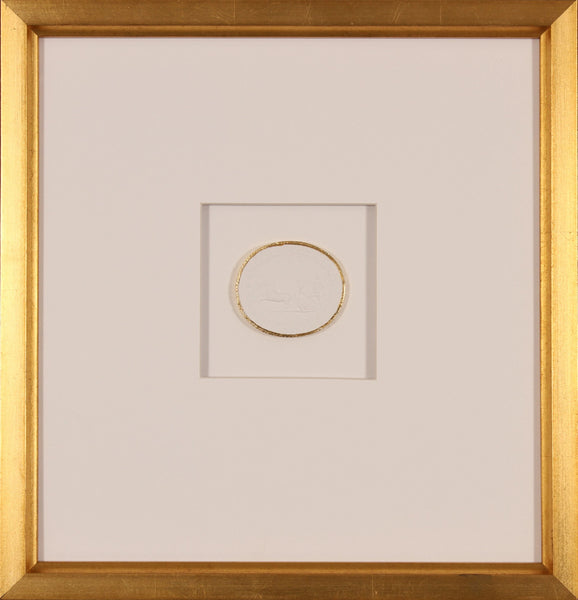 INTAGLIO WITH GOLD 8