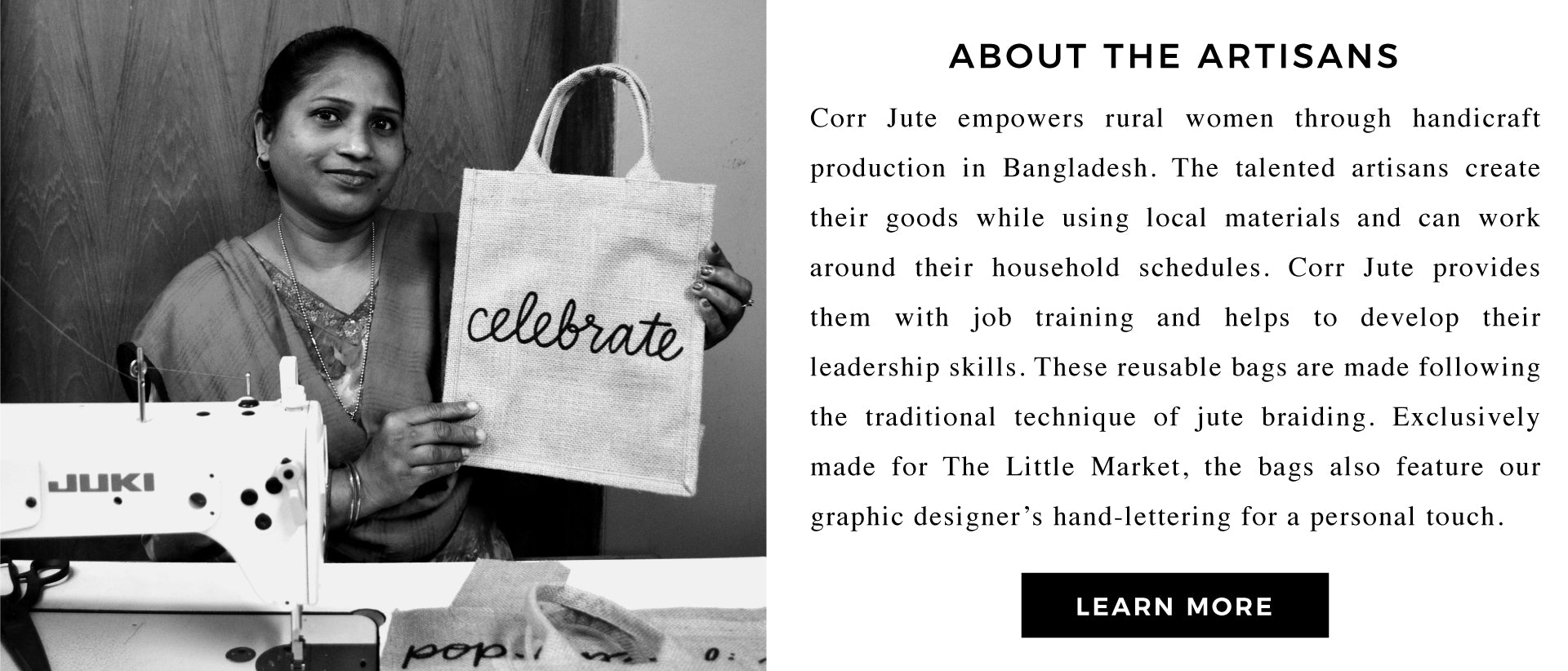 Learn More about Our Artisans