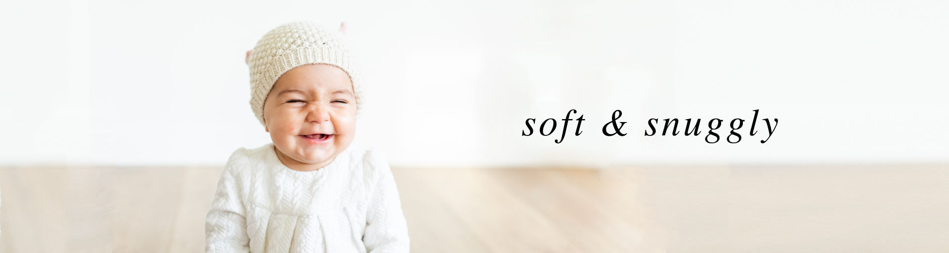 soft and snuggly baby knits and blankets