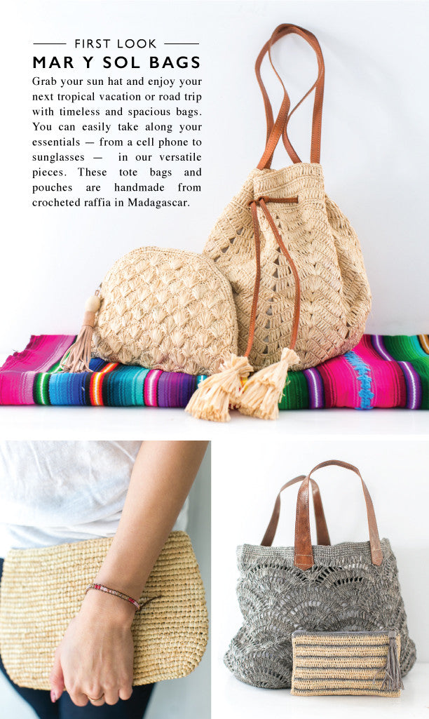 New Mar y Sol Bags Coming Soon to The Little Market