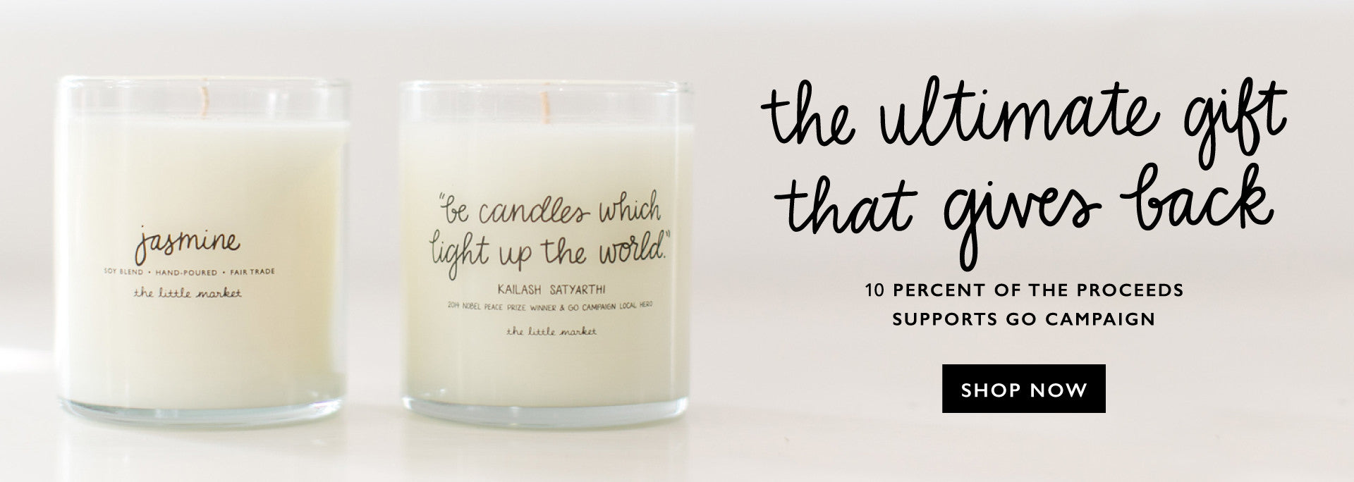 The Little Market Fair Trade Candle | Gifts that Give Back