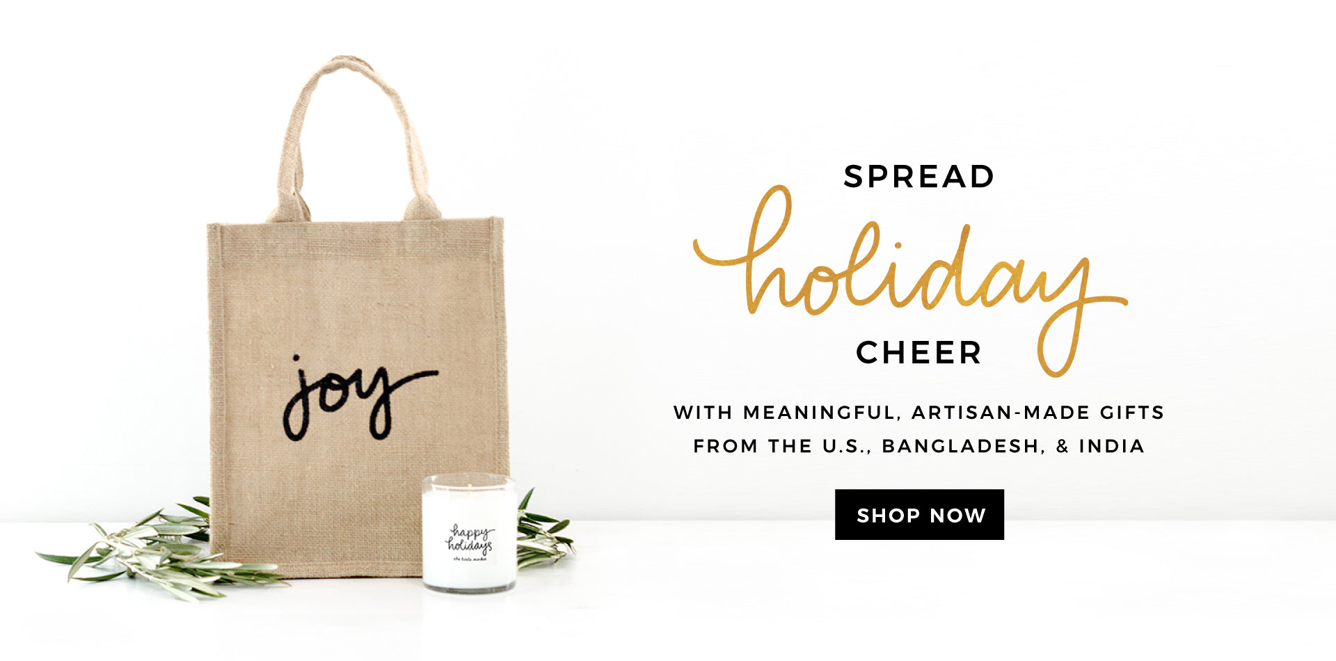Shop Candles & Holiday Bags