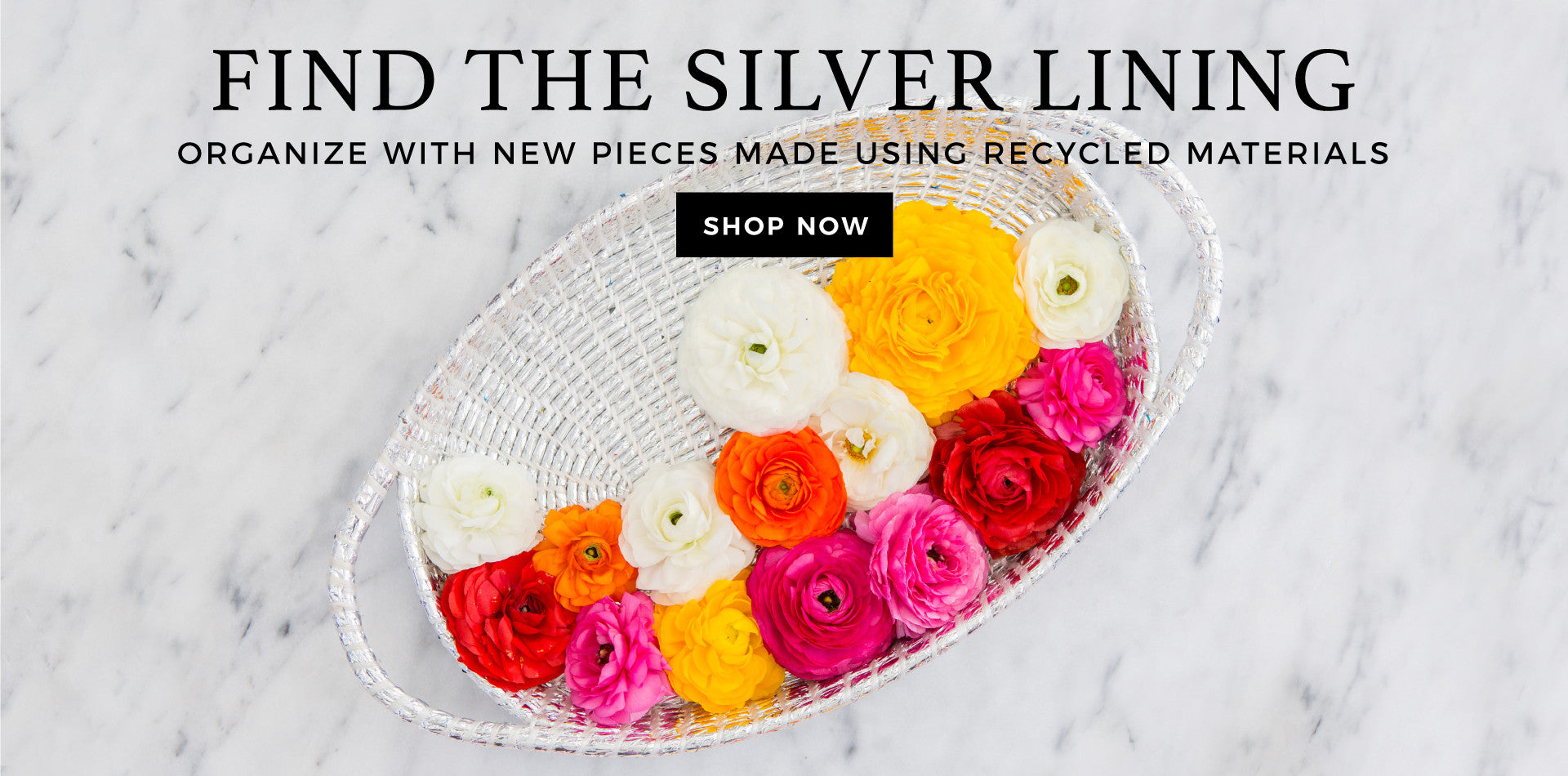 Shop the Silver Baskets Collection