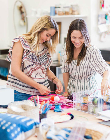 Lauren Conrad and Hannah Skvarla Visit Gaia in Texas