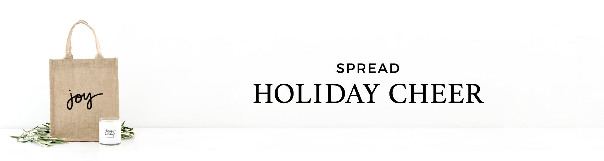 Shop Holiday Bags, Tags, & Candles