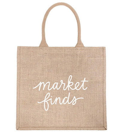 Shopping Tote - Market Finds