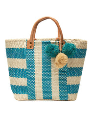 Pom Pom Beach Bag | Mar Y Sol