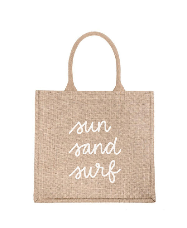 REUSABLE BURLAP BAGS