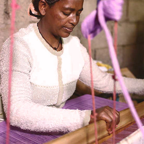 Technique: Ethiopian Cotton Weaving