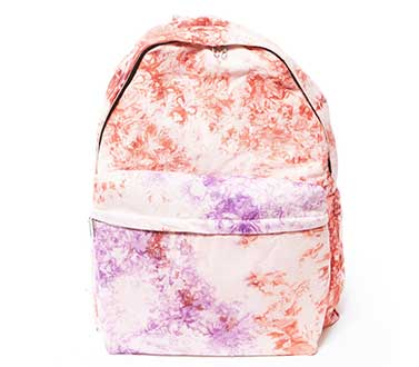 tye dye backpack