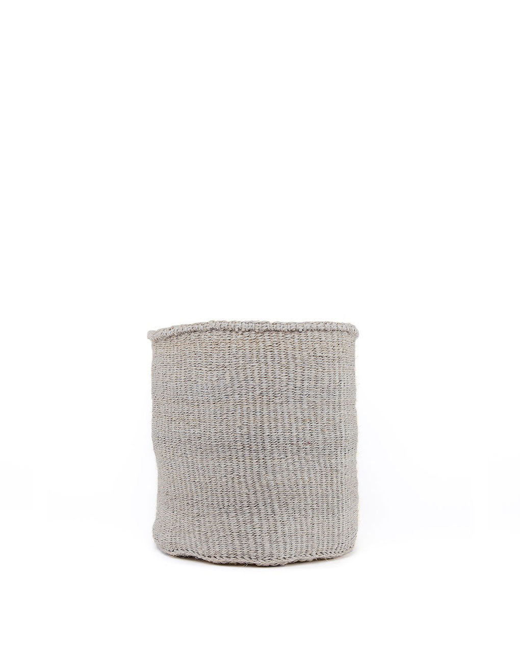 11in Solid Sisal Basket - Gray | The Little Market