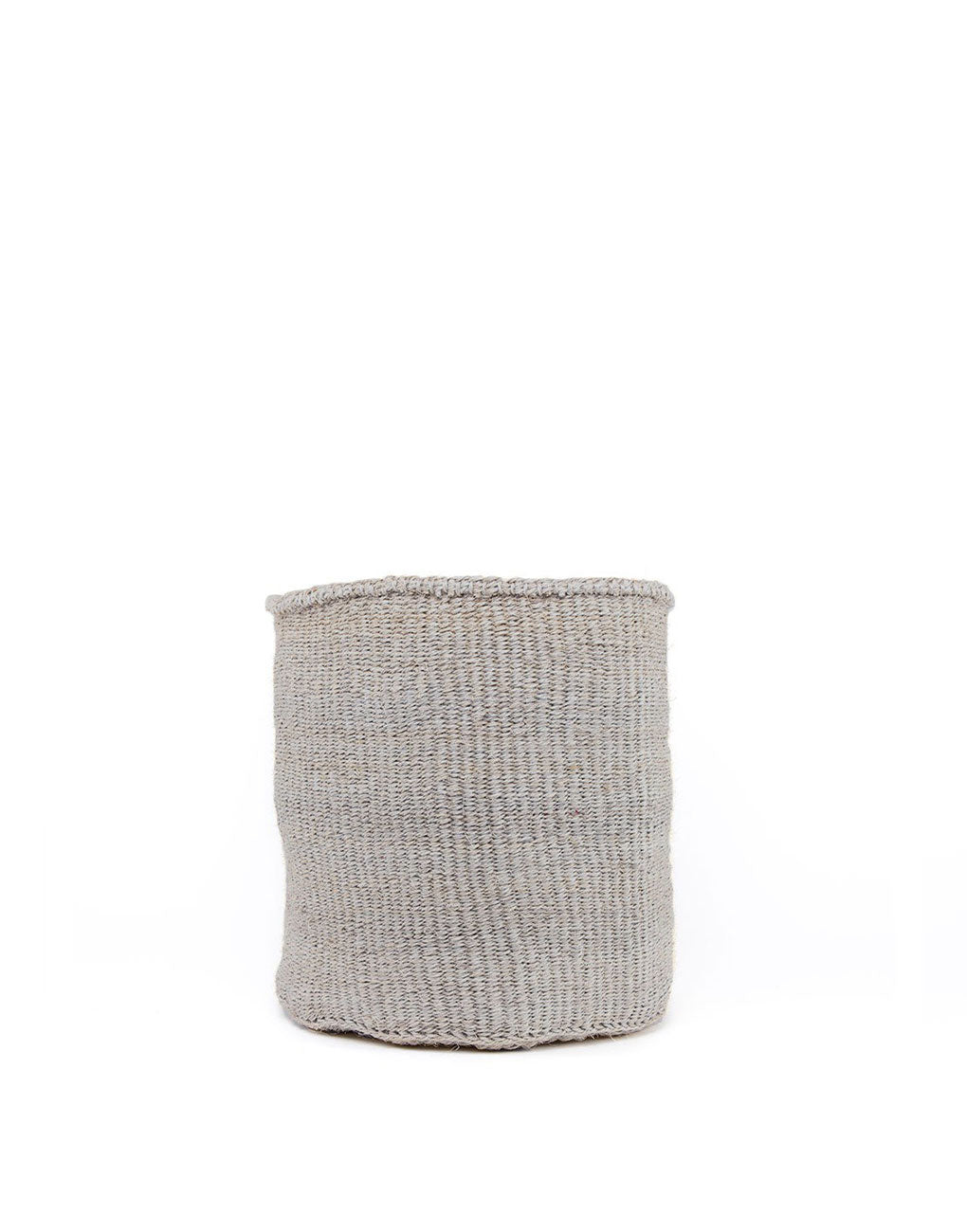 12in Solid Sisal Basket - Gray | The Little Market