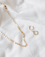Round Disk Chain Choker | The Little Market