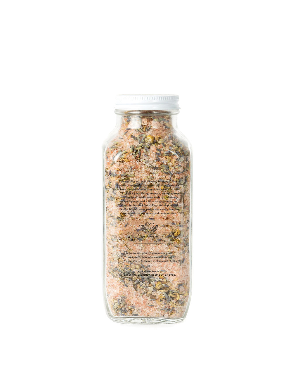 Soaking Salt - Lavender + Chamomile (16 oz.) | The Little Market