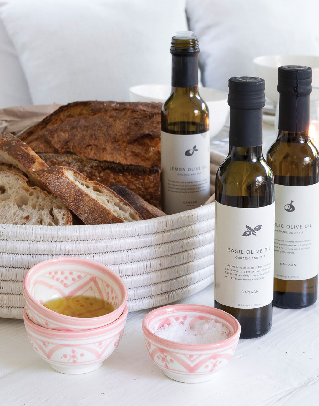 Basil-Infused Olive Oil | The Little Market