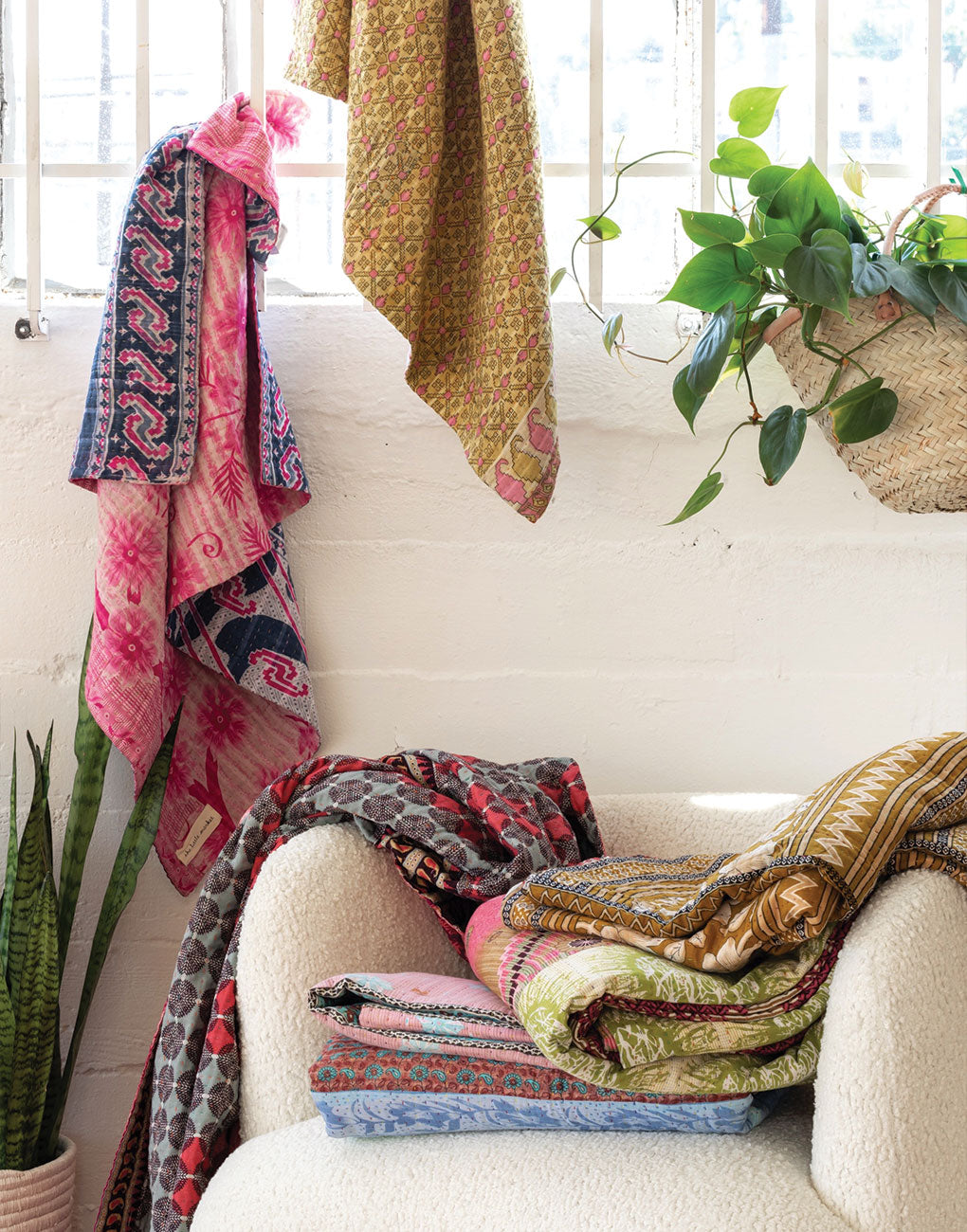 Kantha Quilts | The Little Market