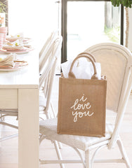 I Love You Reusable Gift Tote | The Little Market