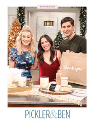 Large Thank You Purposefull Gift Tote In Black Font Featured On Pickler And Ben | The Little Market