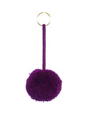 Fair Trade Boysenberry Mexico Pom Pom Decorative Accessory