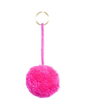 Fair Trade Marble Fuchsia Pom Pom Decorative Accessory