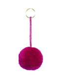 Fair Trade Marble Magenta Pom Pom Decorative Accessory