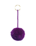 Fair Trade Plum Mexico Pom Pom Decorative Accessory