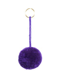 Fair Trade Purple Mexico Pom Pom Decorative Accessory