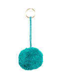 Fair Trade Teal Mexico Pom Pom Decorative Accessory