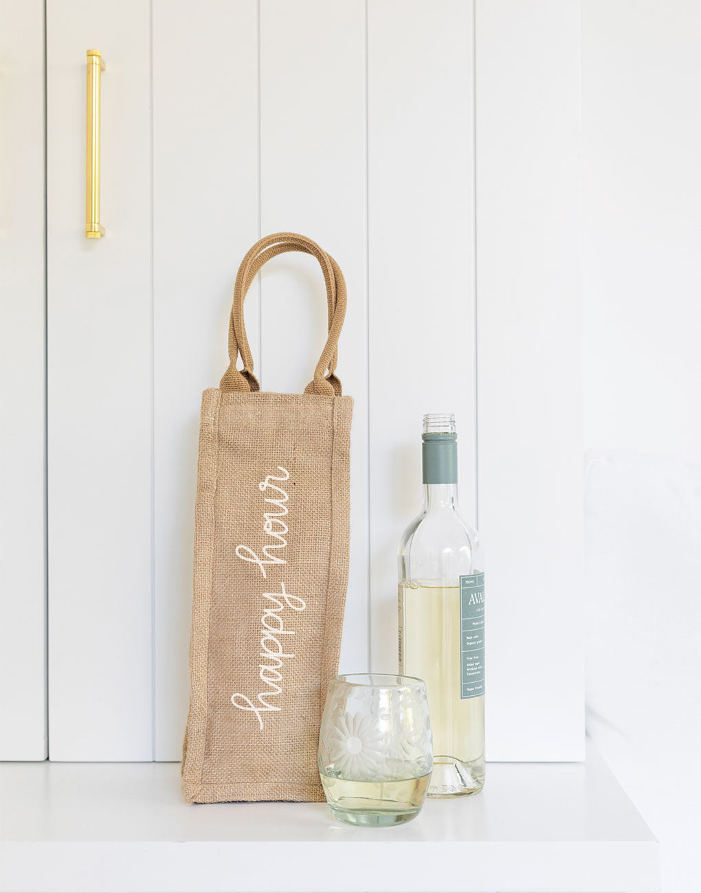 Happy Hour Reusable Wine Tote | The Little Market