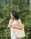 Natural Raffia Tote | The Little Market