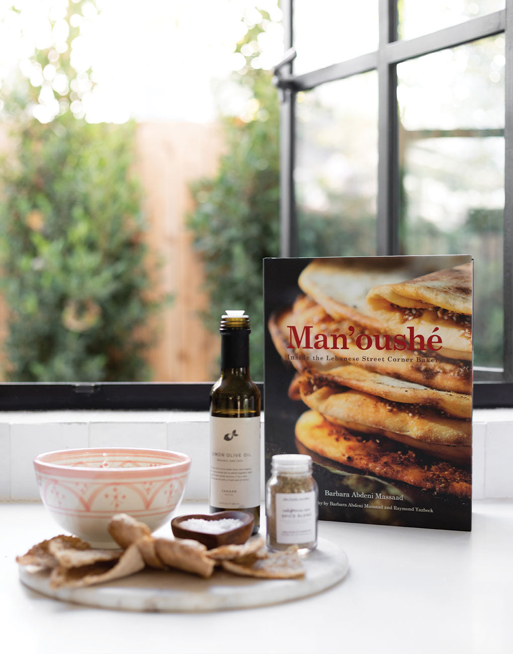 Man'oushé Cookbook | The Little Market