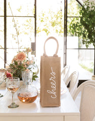 Cheers Reusable Wine Tote | The Little Market