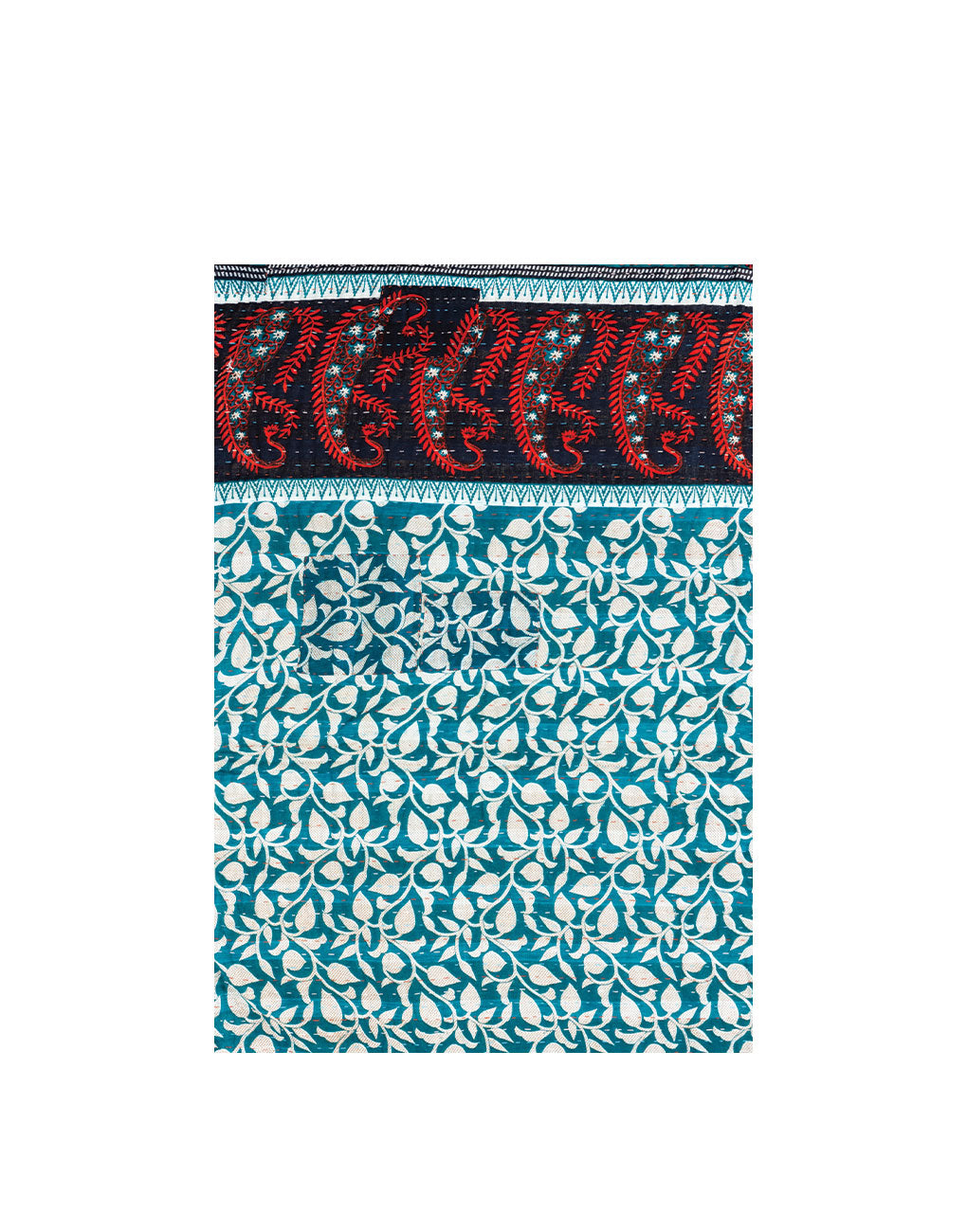 Small Kantha Quilt - No. 573 | The Little Market