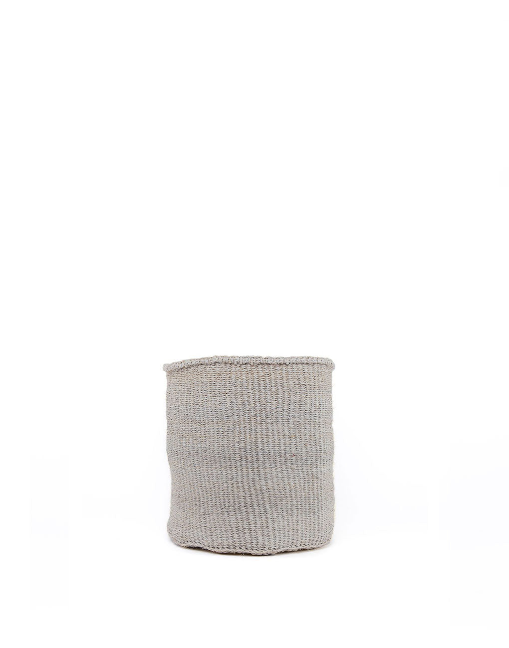 9in Solid Sisal Basket - Gray | The Little Market