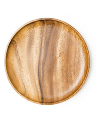 Acacia Wood Charger Plate | The Little Market