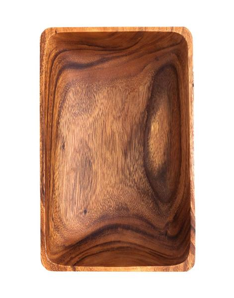 Acacia Wood Rectangular Bowl