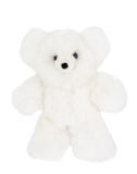 Fair Trade Handmade Alpaca Hair Stuffed Bear, White