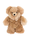 Large Honey Alpaca Stuffed Bear | The Little Market