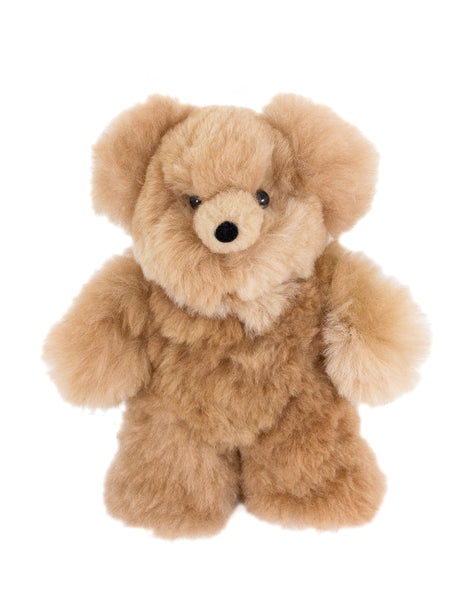 Alpaca Stuffed Animal - Honey Bear
