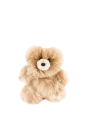 Small Honey Alpaca Stuffed Bear | The Little Market