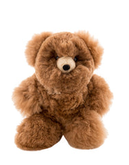 Large Cinnamon Alpaca Stuffed Bear | The Little Market