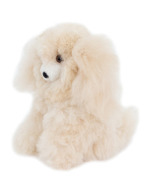 Fair Trade Handmade Alpaca Hair Stuffed Dog