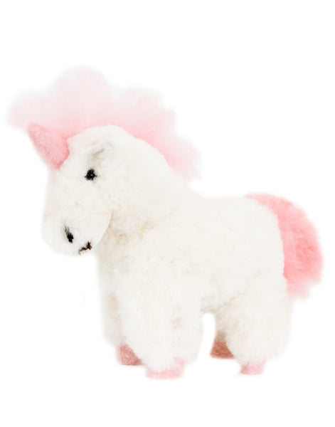 Alpaca Stuffed Animal - Unicorn