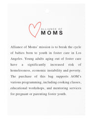 Alliance Of Moms Mission Statement Tag | The Little Market