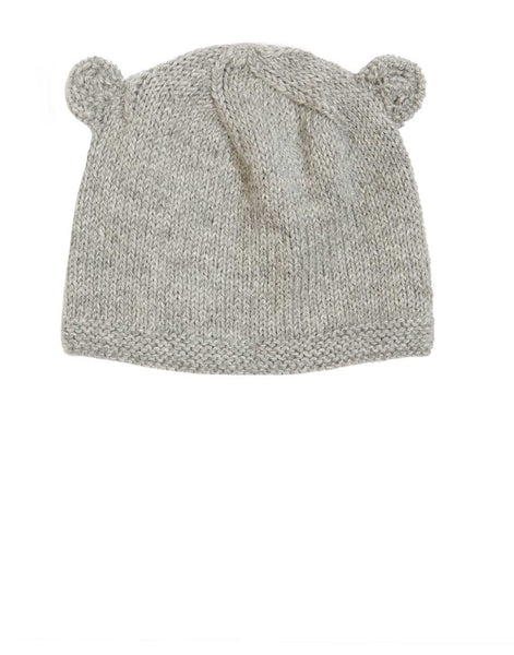 Little Bear Baby Beanie - Gray