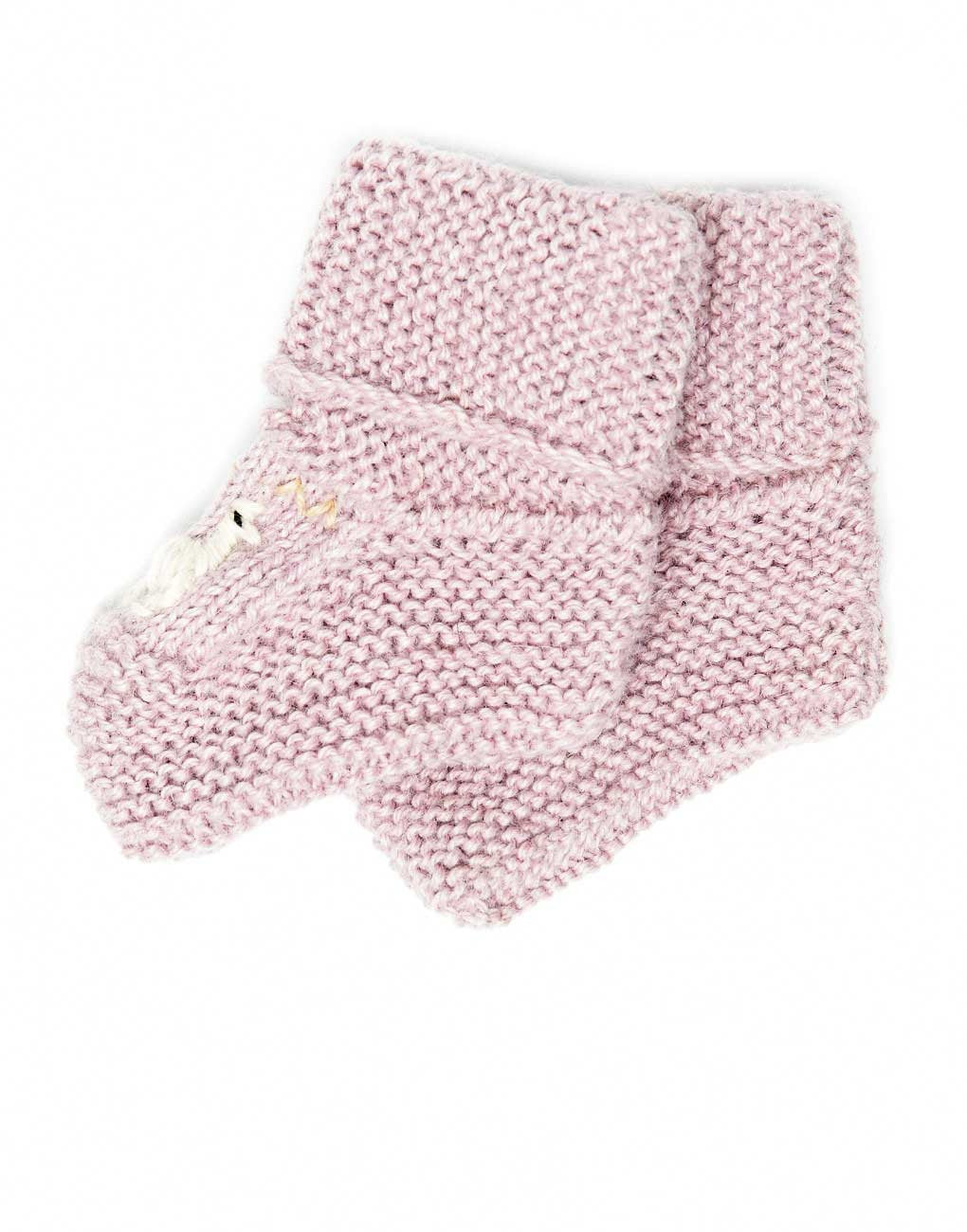 1-1.5 years lilac alpaca and wool blend baby booties choose your size: newborn 3-6 month Lavender color socks 6-12 month