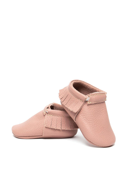 Baby Moccasins - Dusty Rose