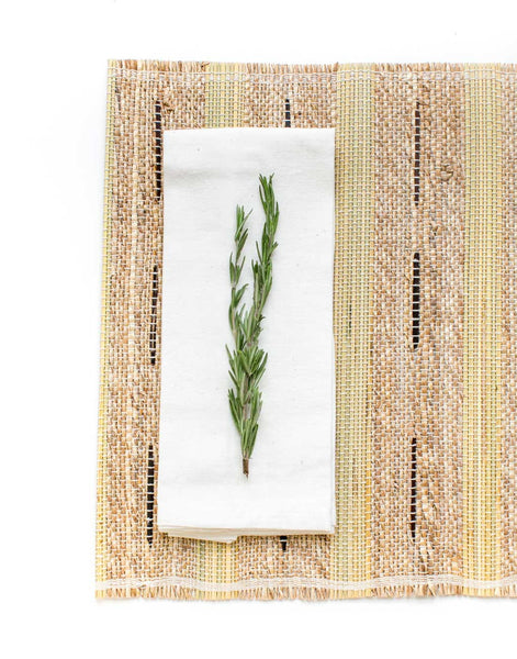 Banana Bark & River Grass Placemat