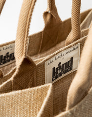 Be Kind Purposefull Tote Tag Close Up | The Little Market