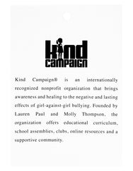 Kind Campaign Mission Statement Tag | The Little Market